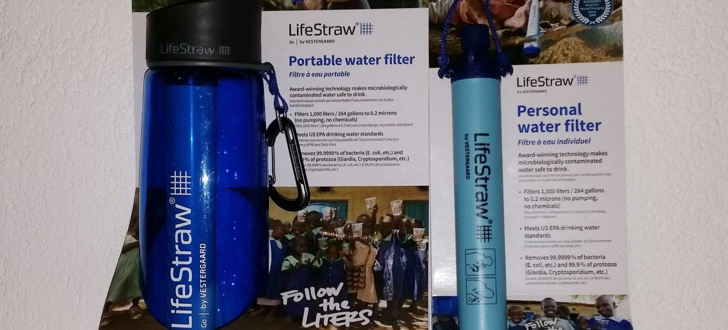 Lifestraw Filter in Verpackung