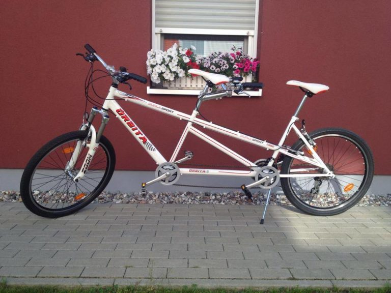 Mountainbike Tandem im Test
