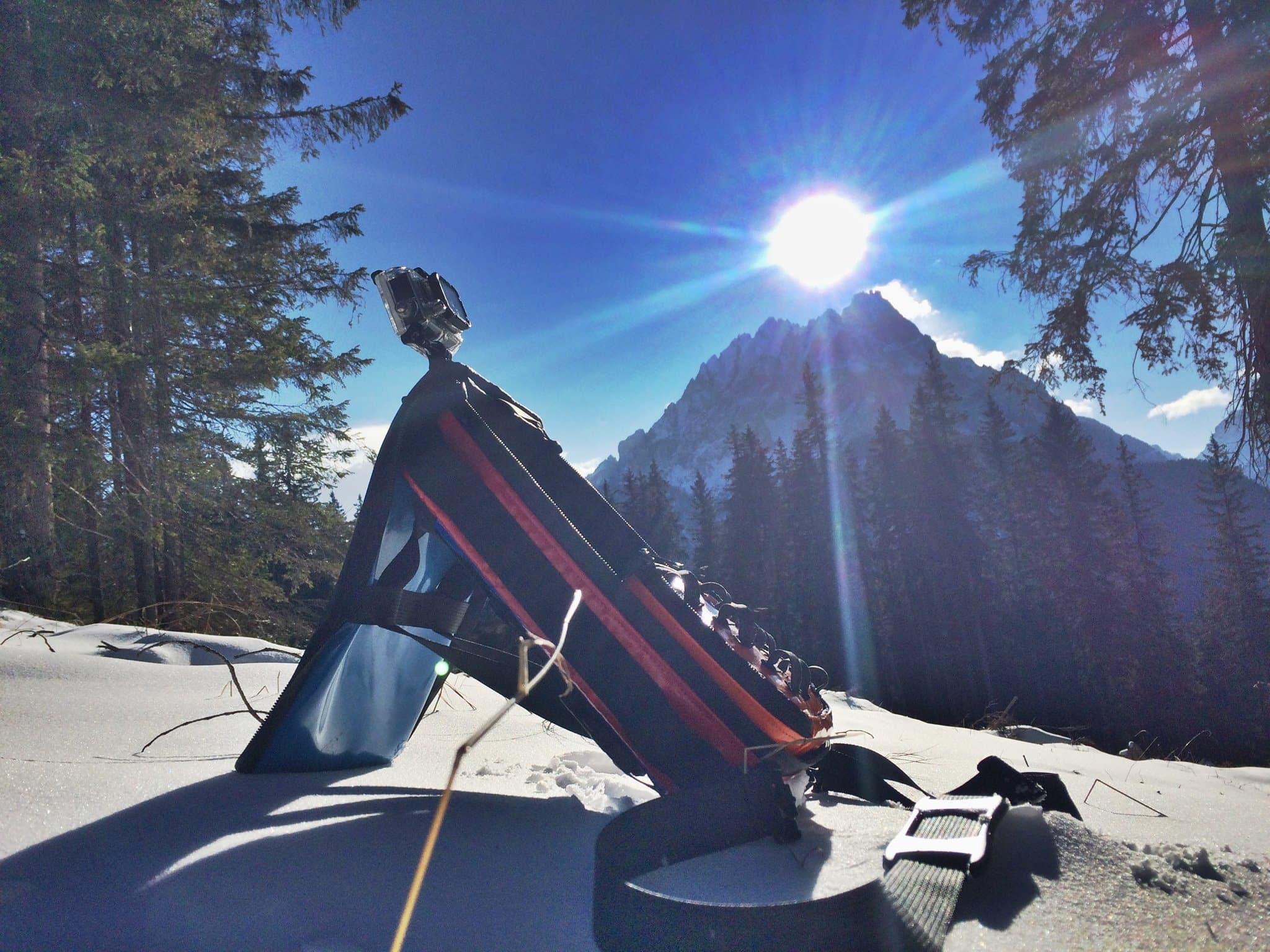 Gipflbag - eine Kameratasche für Action Cams