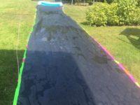 Wasserrutsche bauen - Abkühlungsideen