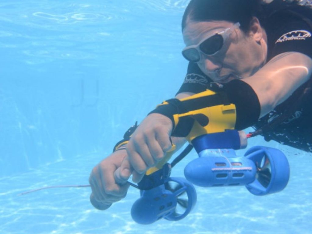x2 Underwater Jetpack Tauch-Scooter