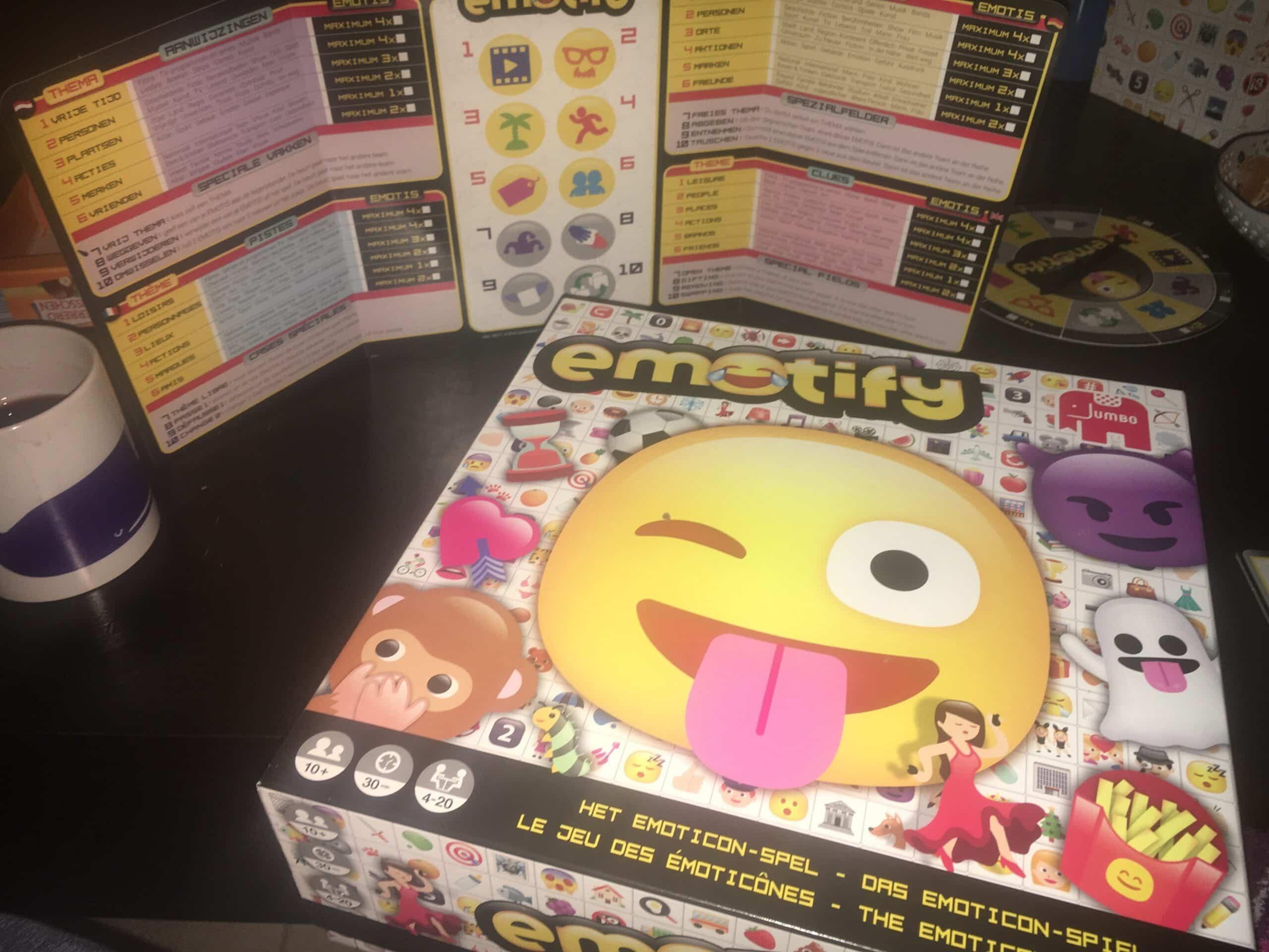 Emotify Spiel