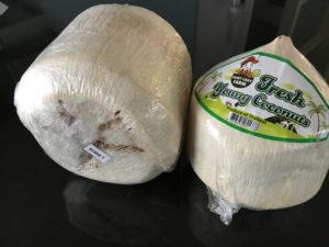Kokosnuss zum trinken