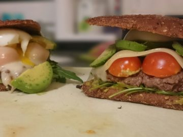Low Carb Burger Rezept