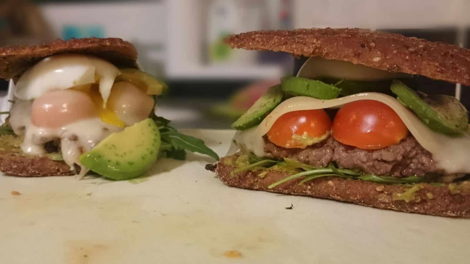 Low Carb Burger Rezept