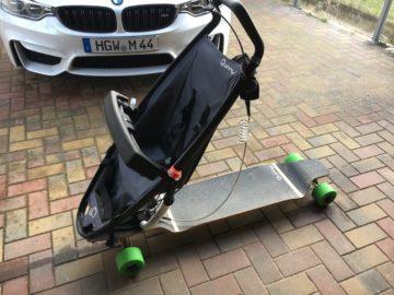 Longboard Kinderwagen mieten
