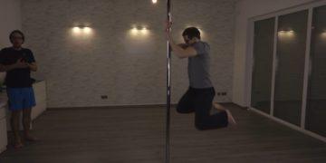Pole Fitness ausprobiert