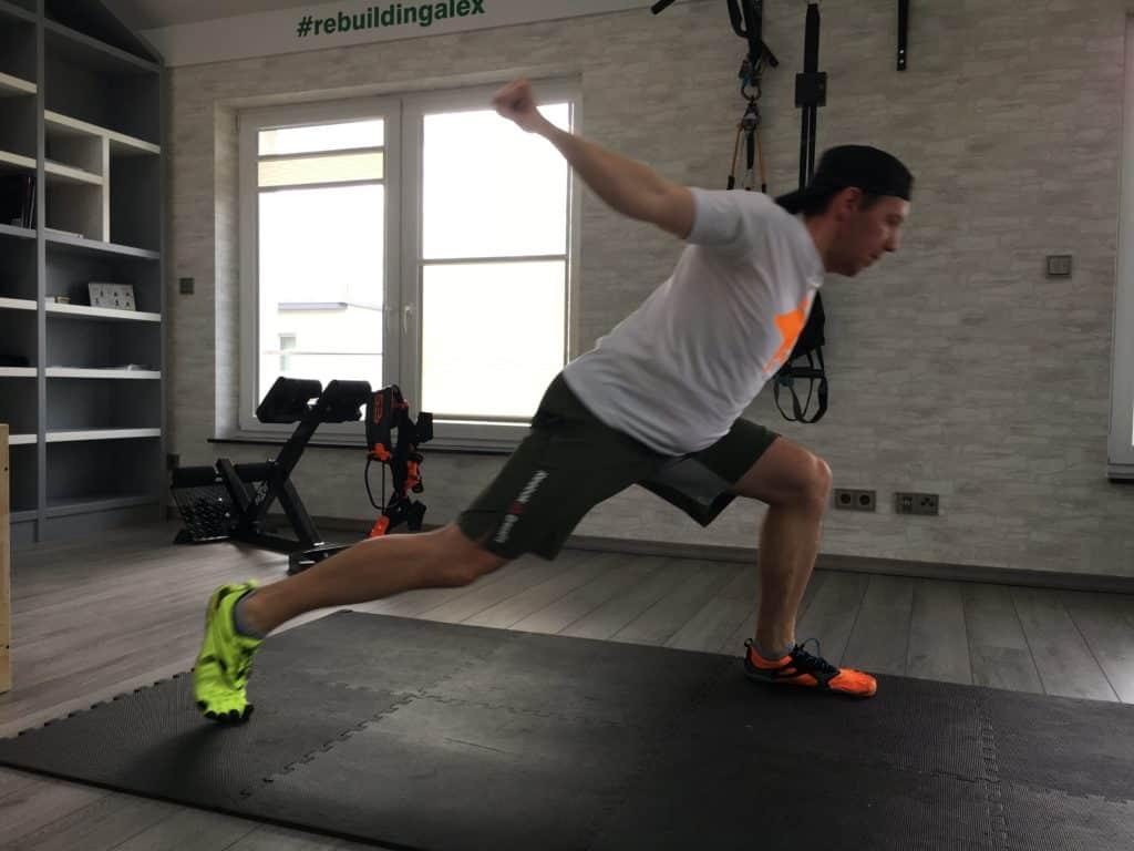 PigeonFIT Pigeon Ausfallschritt - Fitnessstudio Alternativen