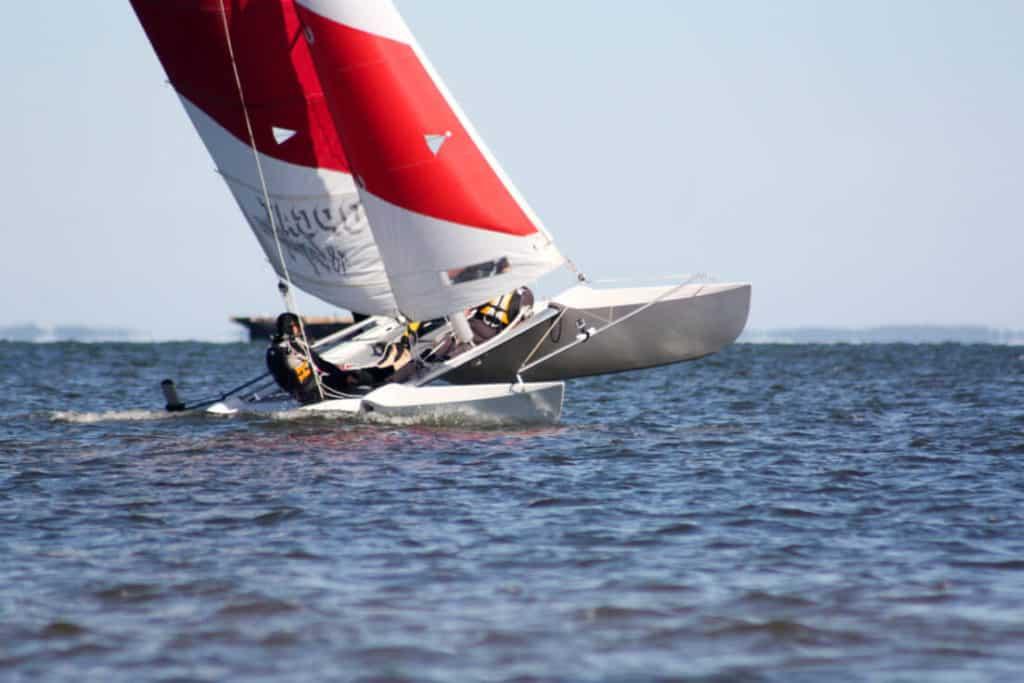 Urlaub am Meer - Katamaran Segeln auf der Ostsee