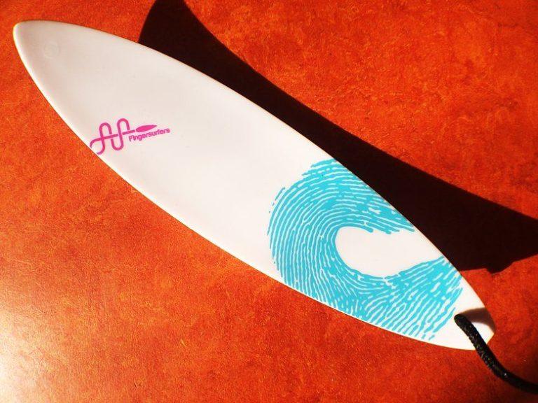 Finger Surfing