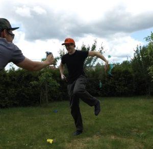 Ballon Duell Spiel