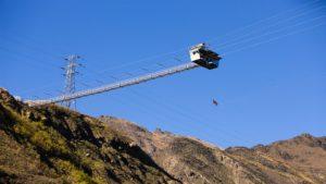 Größte Schaukel der Welt - Nevis Swing
