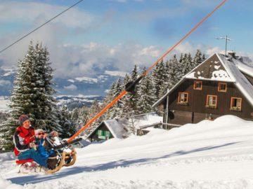 Bergaufrodeln in Österreich