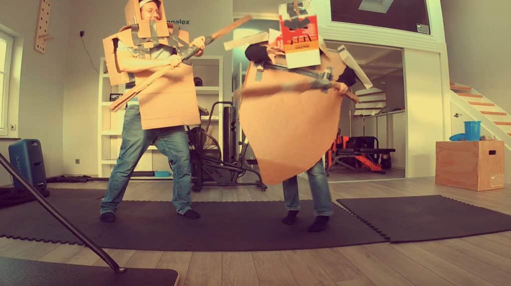Cardboard Duel