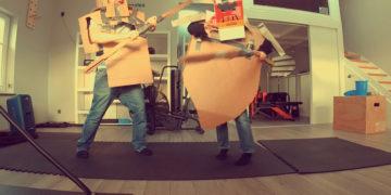 Cardboard Duel T-REX Tape