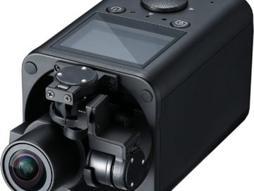 Action Cam mit Gimbal