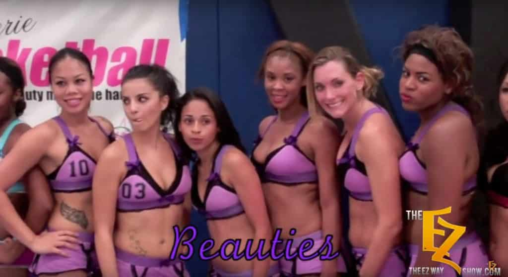 Lingerie Basketball Team