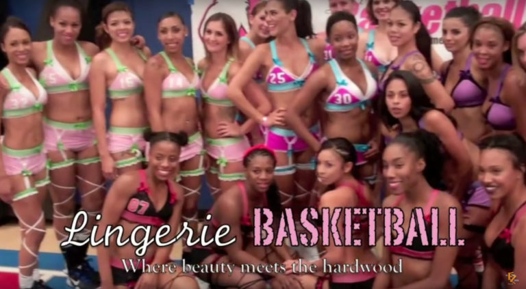 Lingerie Basketball