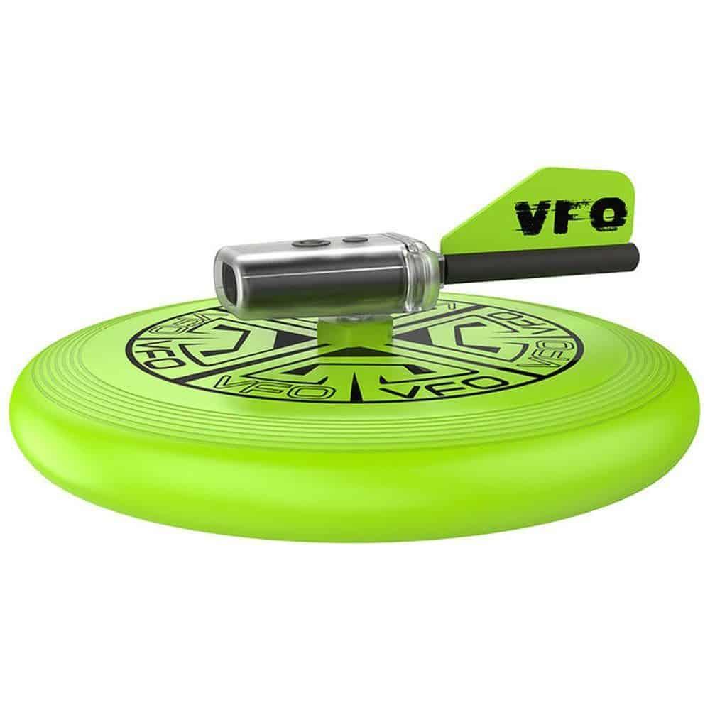 Frisbee mit Videokamera, Seite