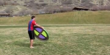 Riesige Frisbee selbst bauen