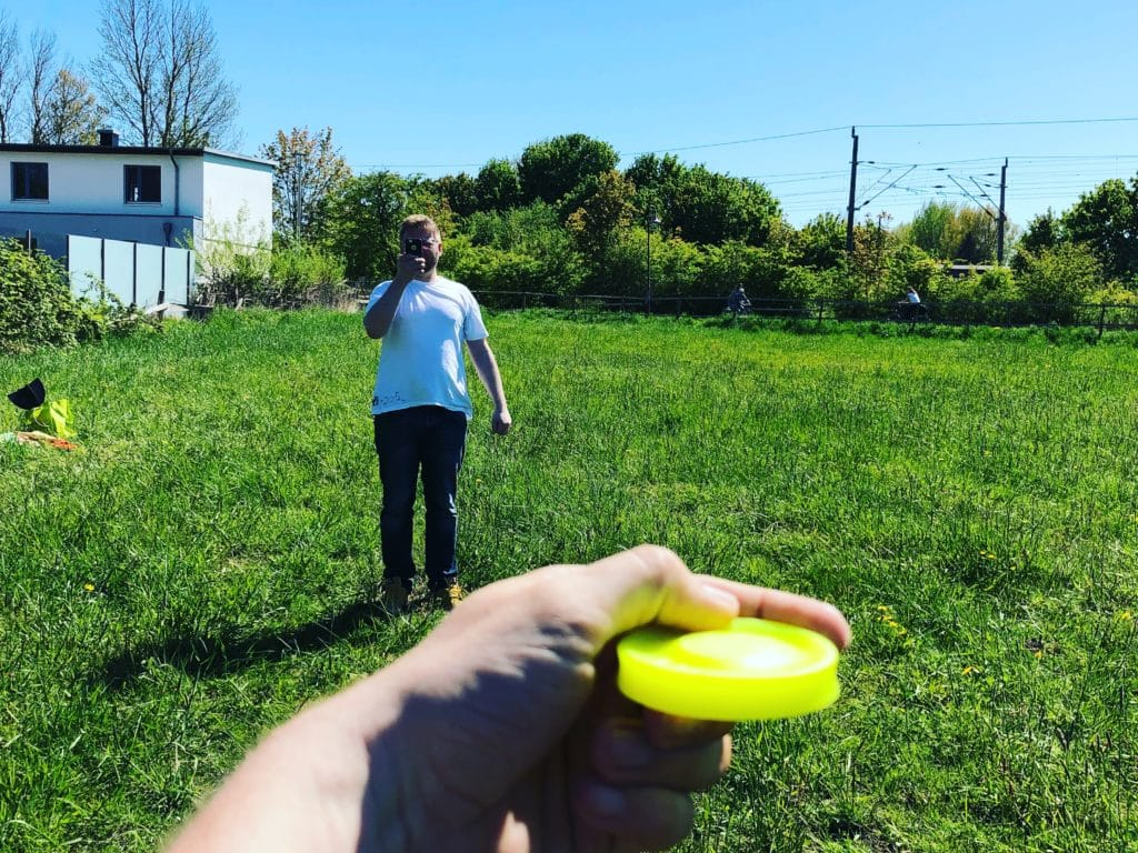 ZipChip mini Frisbee
