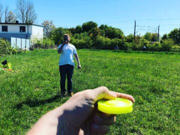 ZipChip mini Frisbee