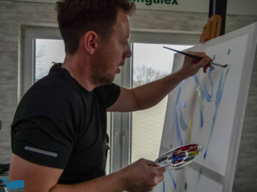 High Intensity Interval Painting