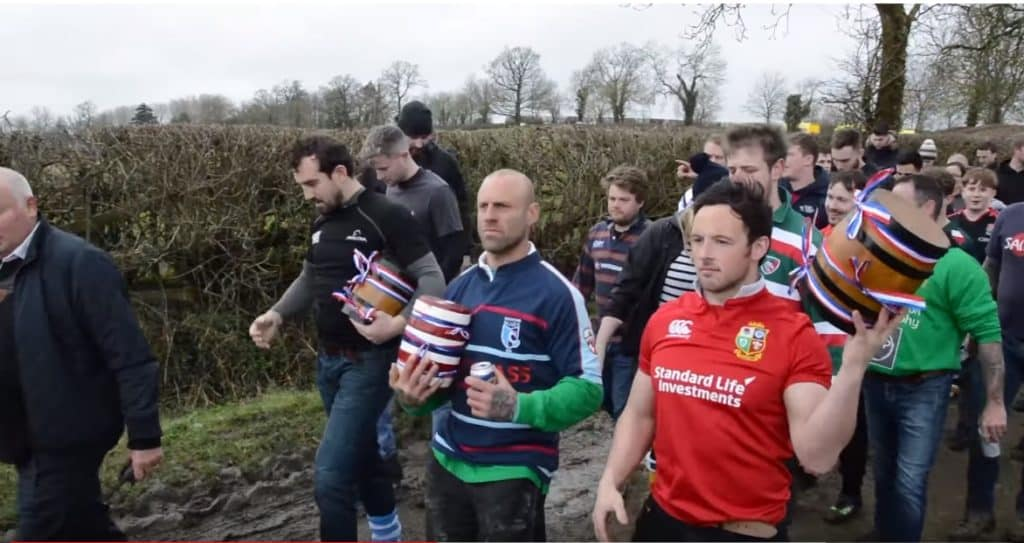 Bottle Kicking