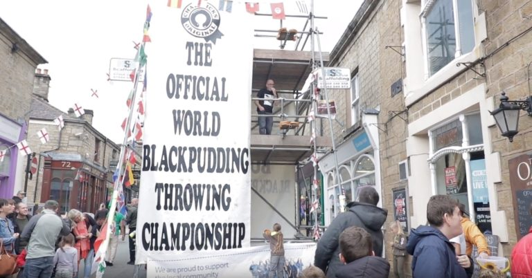 Black Pudding Throwing