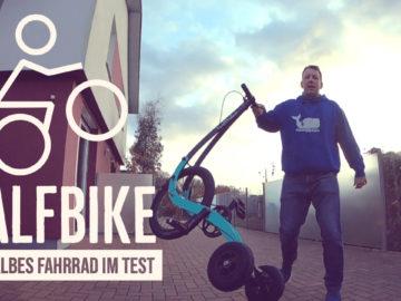 Halfbike im Test