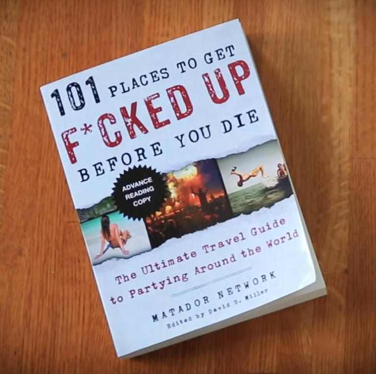 Buch 101 Places To Get Fucked Up Before You Die