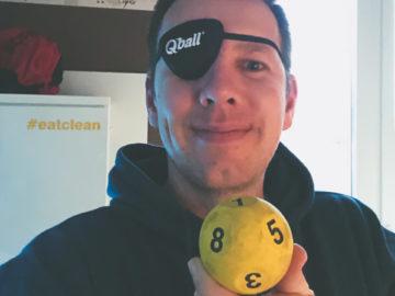 Qball Augentraining
