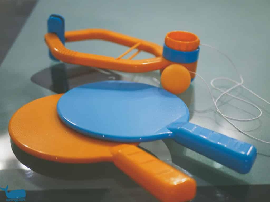 Türrahmen Tischtennis Spiel