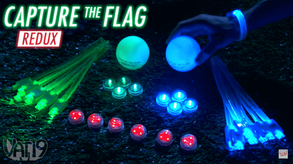 Glow in the dark capture the Flag REDUX SET