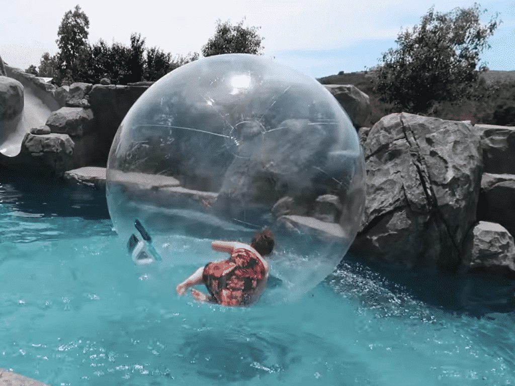 Water Walking Bubbles