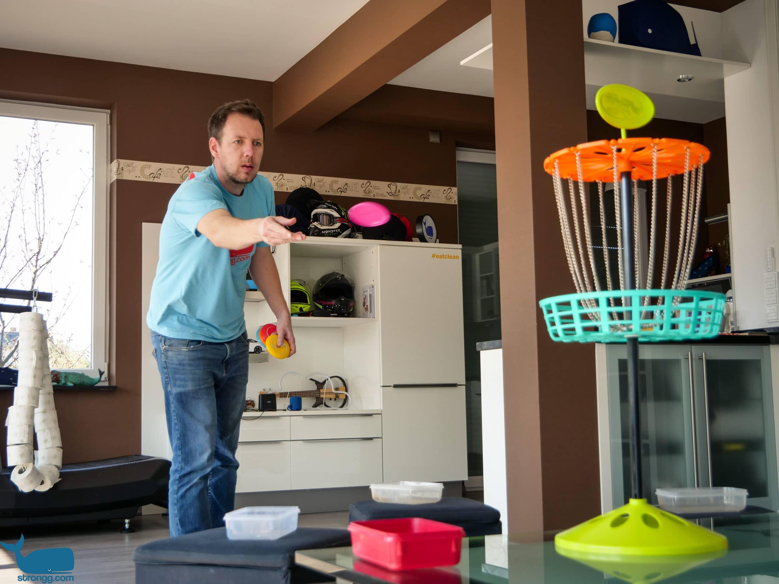 Disc Golf zu Hause spielen