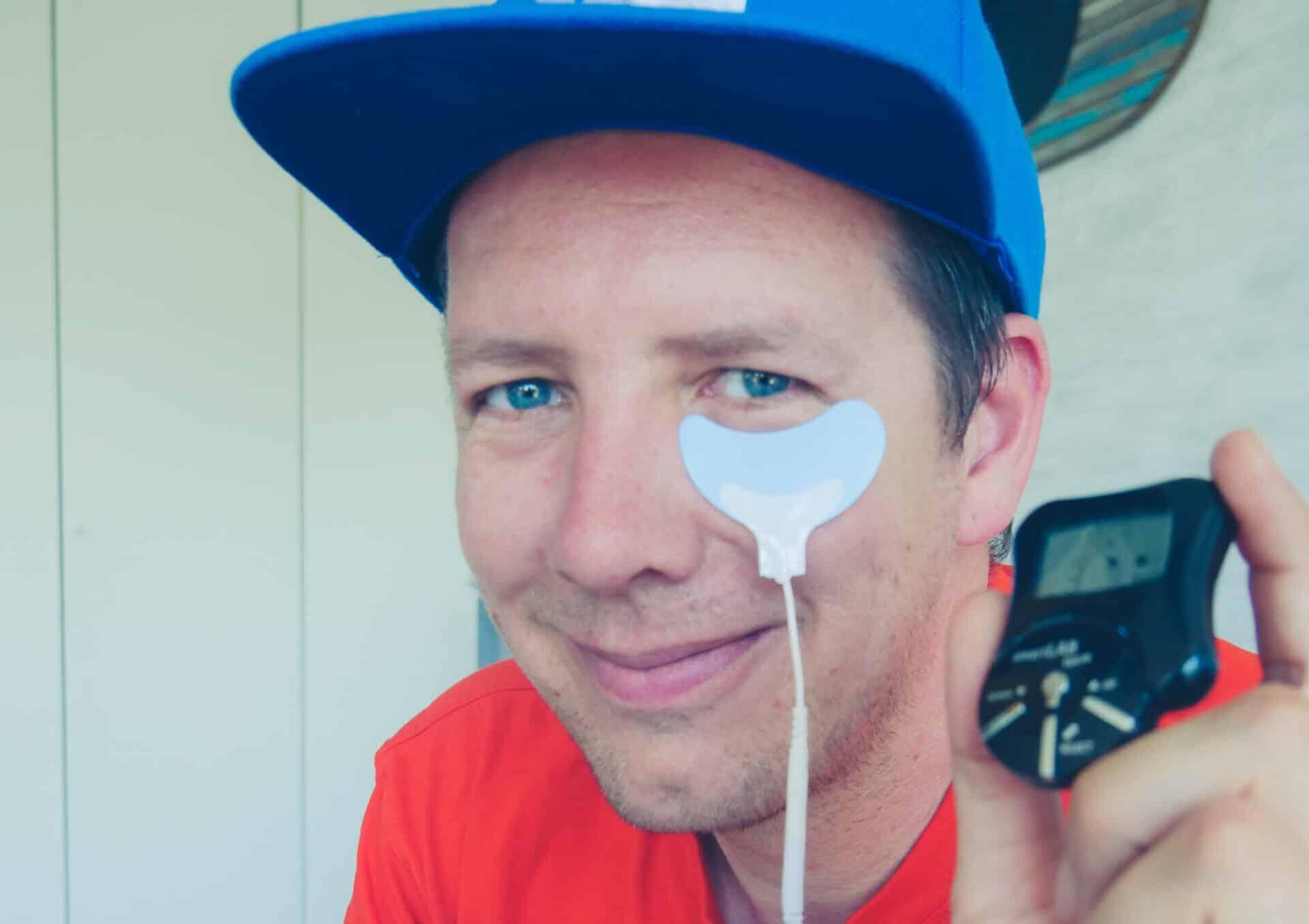 EMS Gerät für das Gesicht