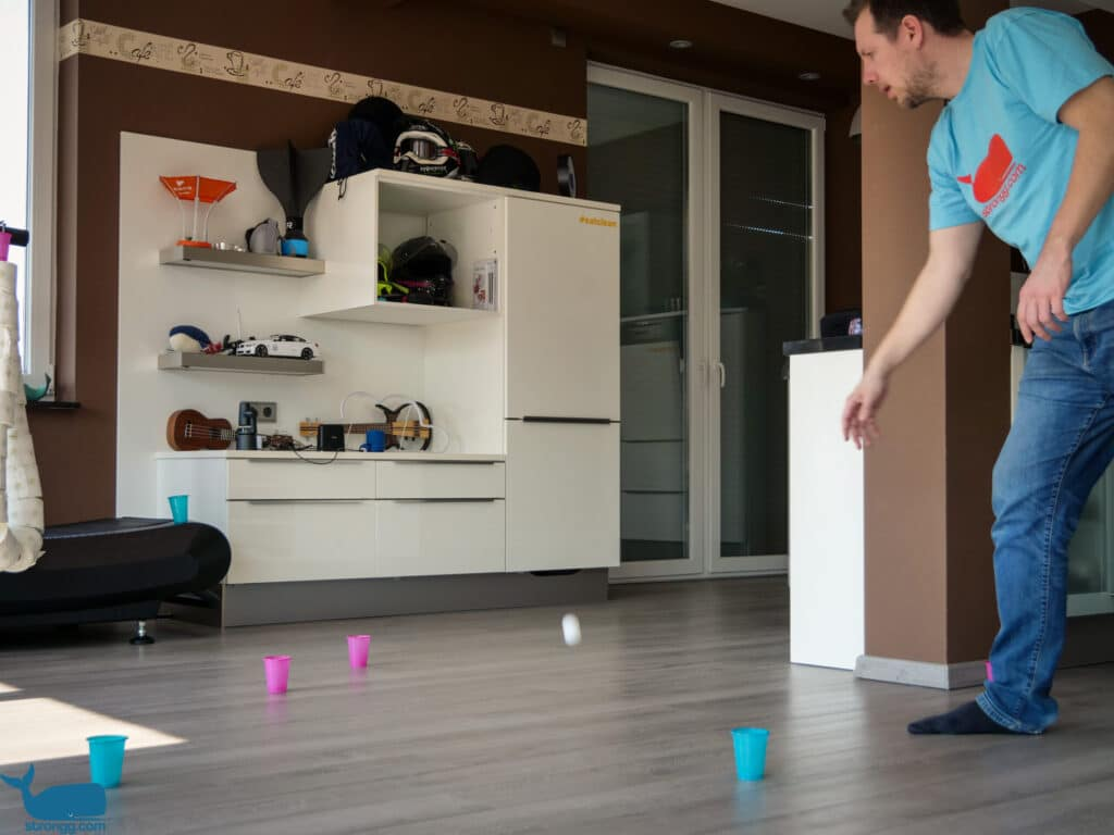 Hindernis Pong Spielfeld
