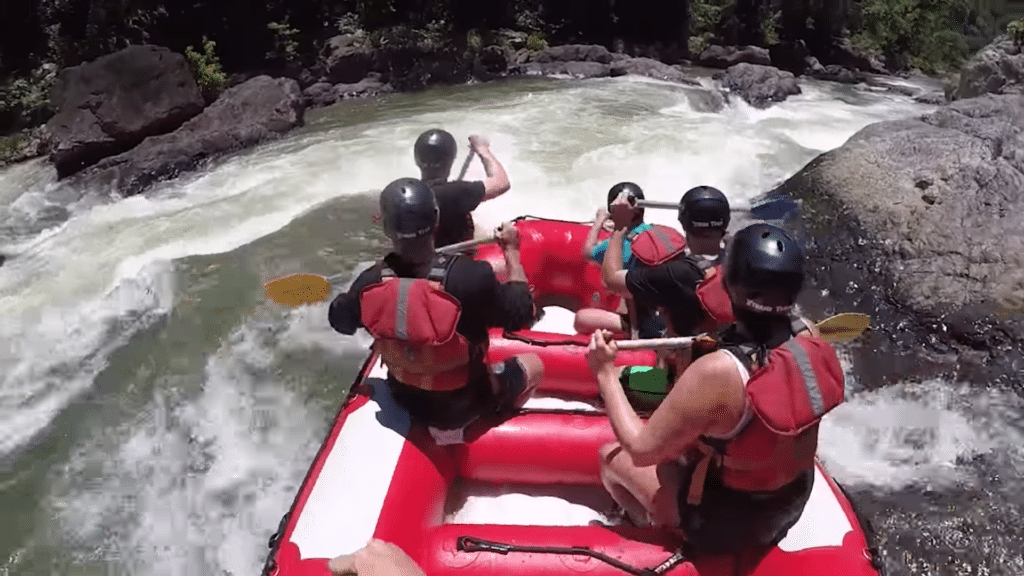 Partner Summer Bucket List - Rafting