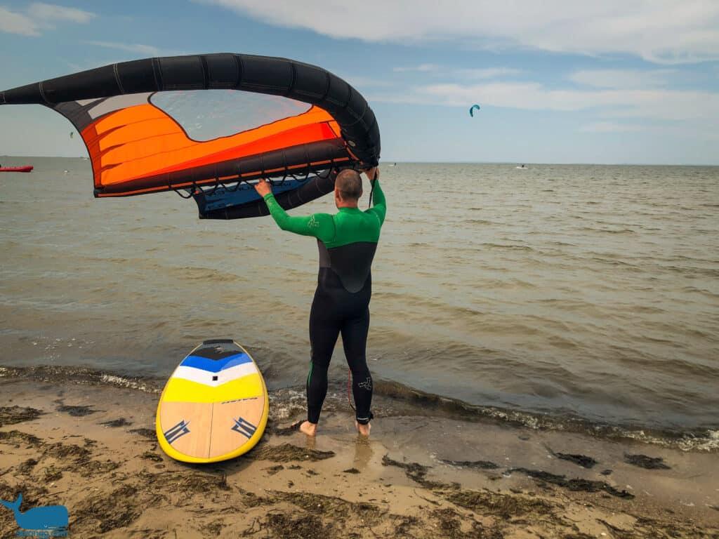 Freizeit Trends - Wing Surfen
