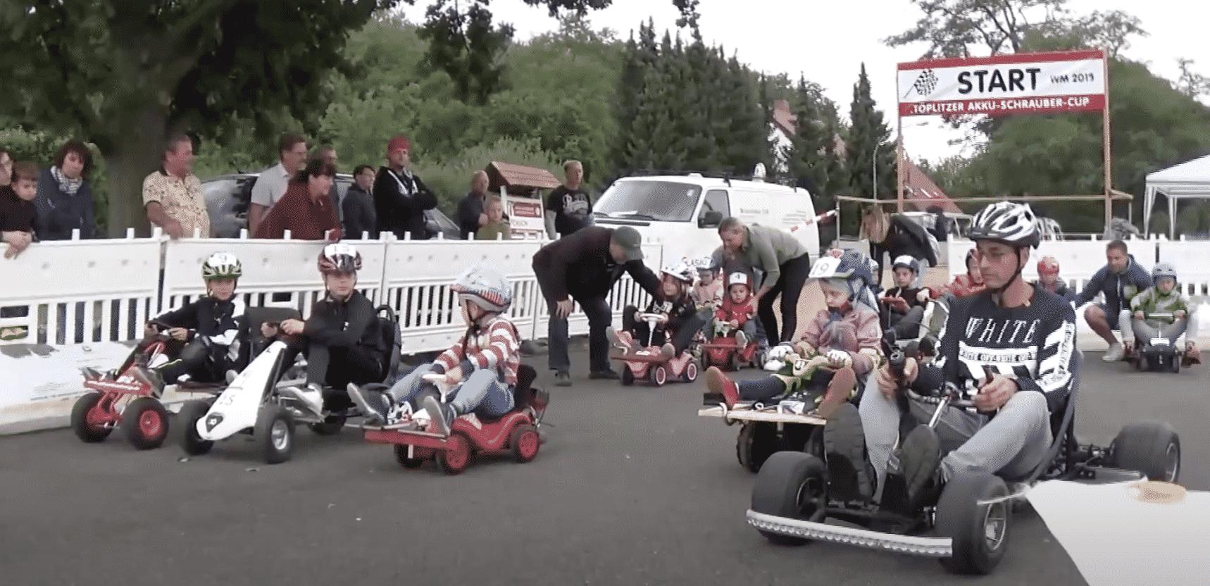 Akkuschrauber Rennen