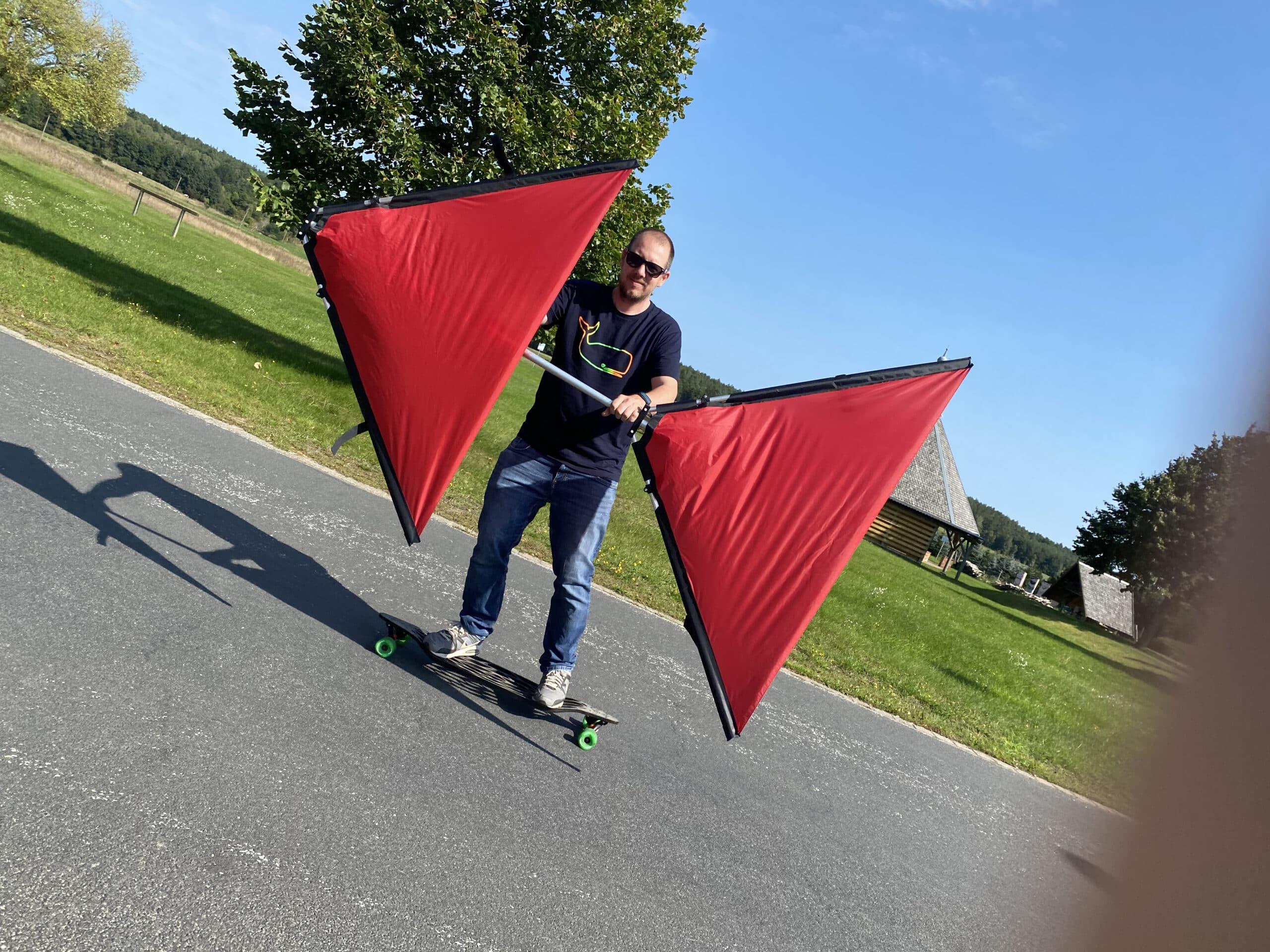 Skateboard Segel