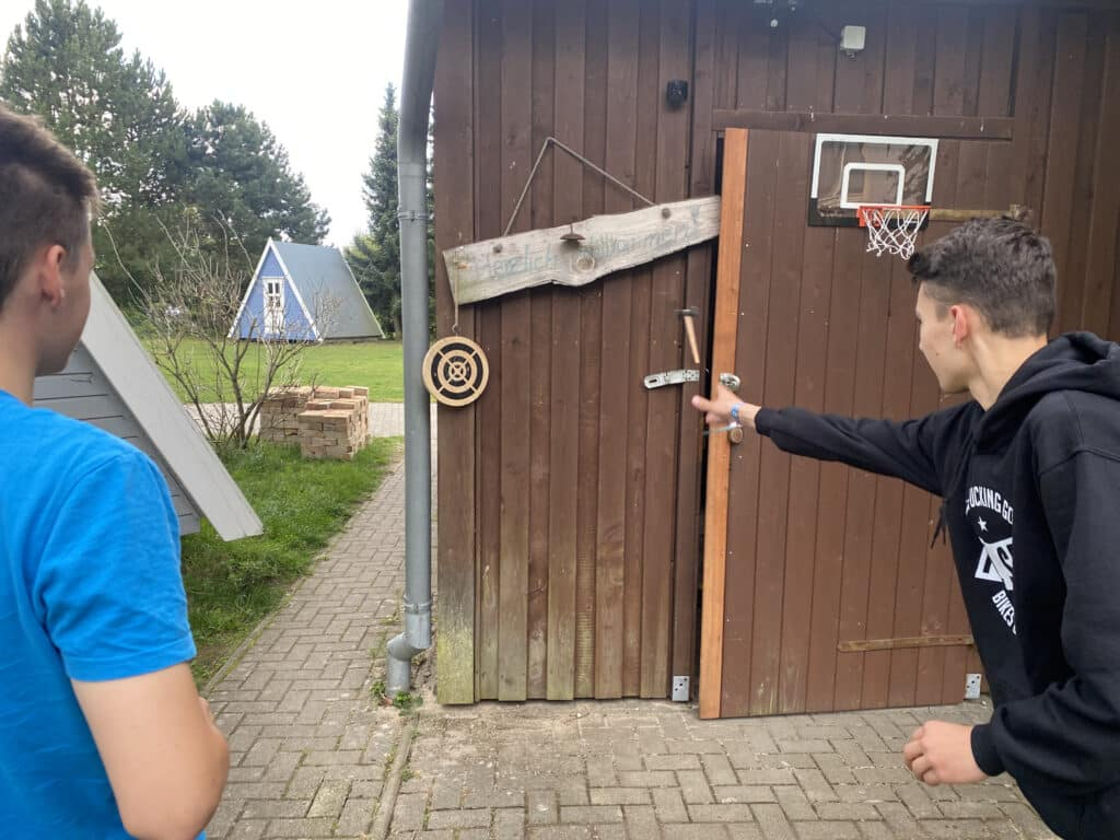 Mini Axtwurf Spiel
