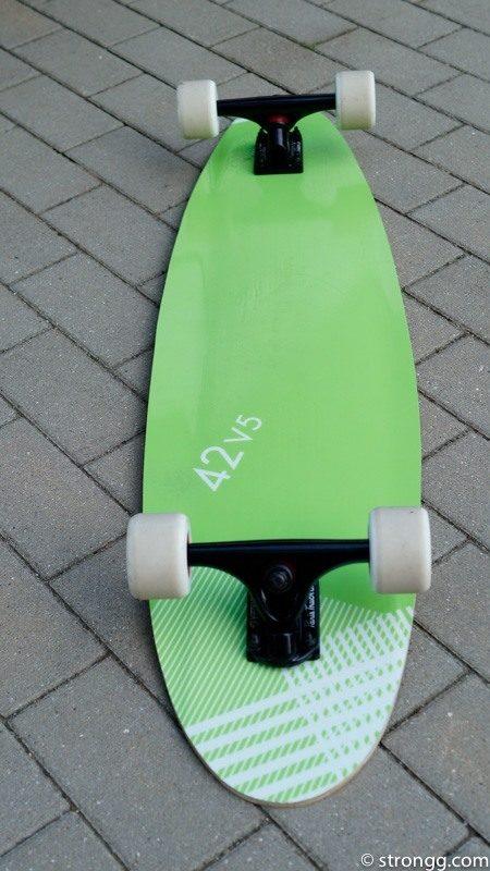 Altes Kiteboard - neues Longboard