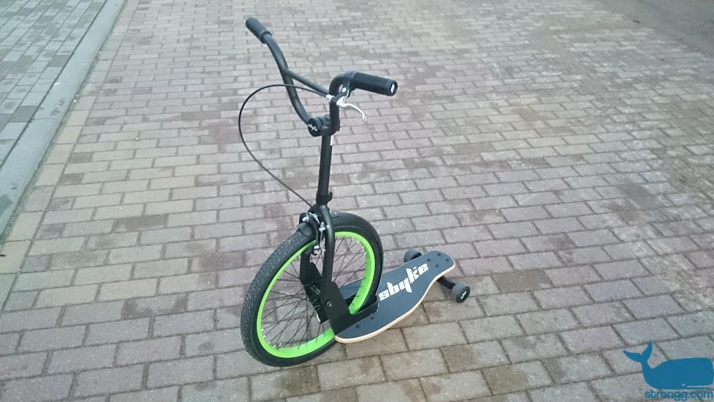 Skateboard Bike