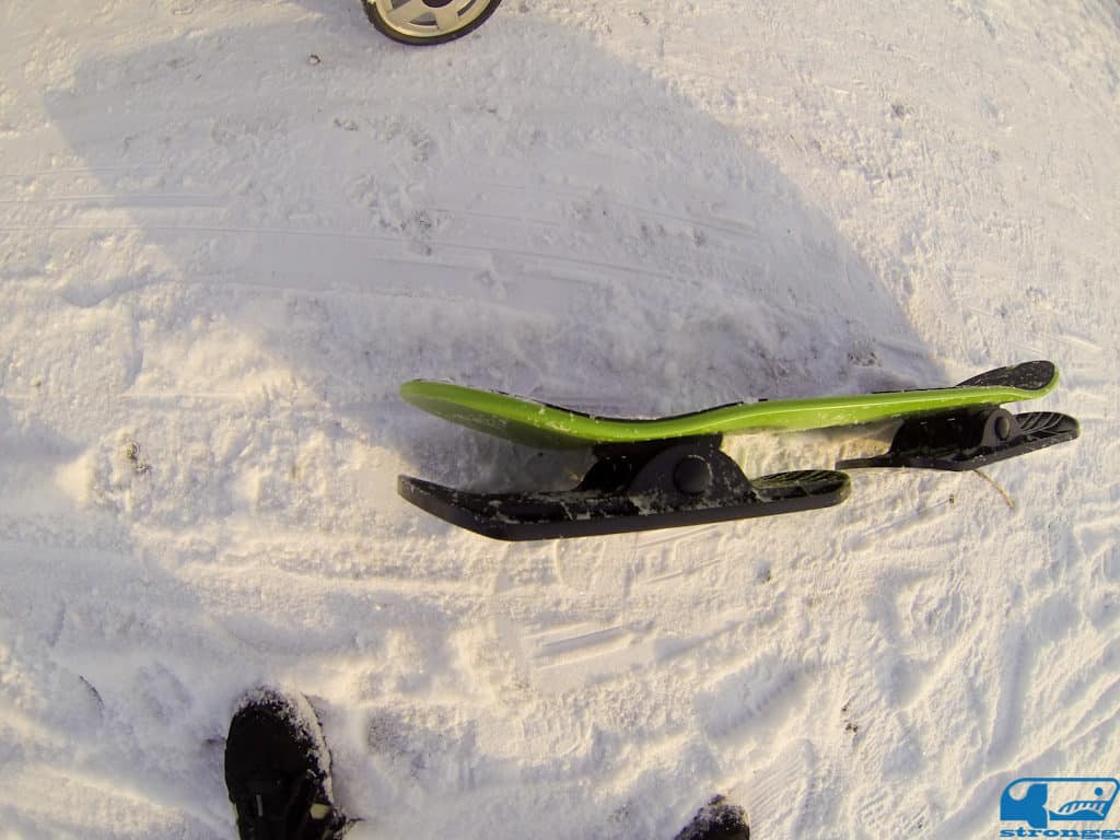 Snoglide Snow Skateboard