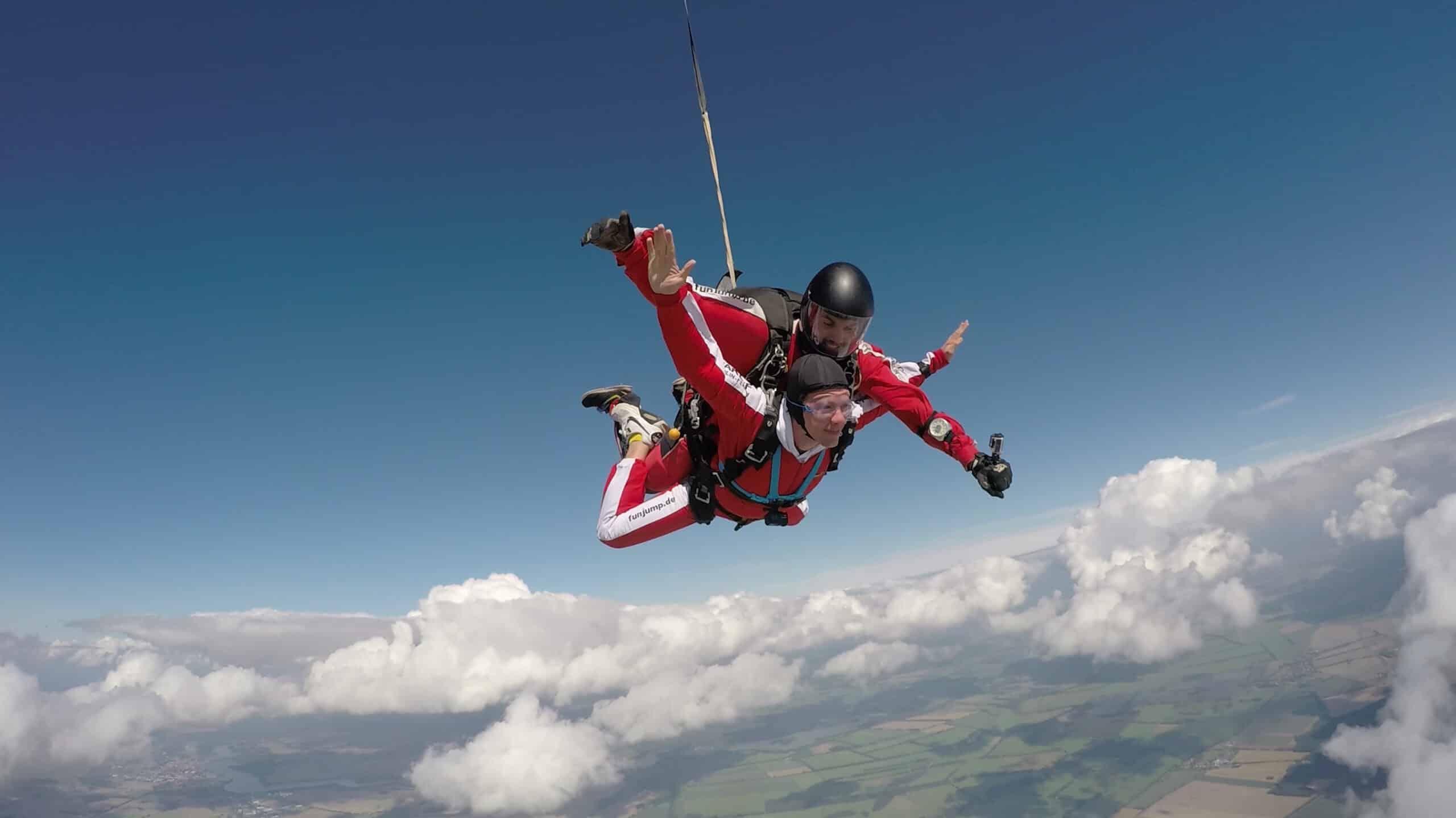 Fallschirmspringen günstig