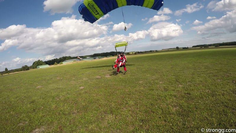 Fallschirmspringen Fehrbellin