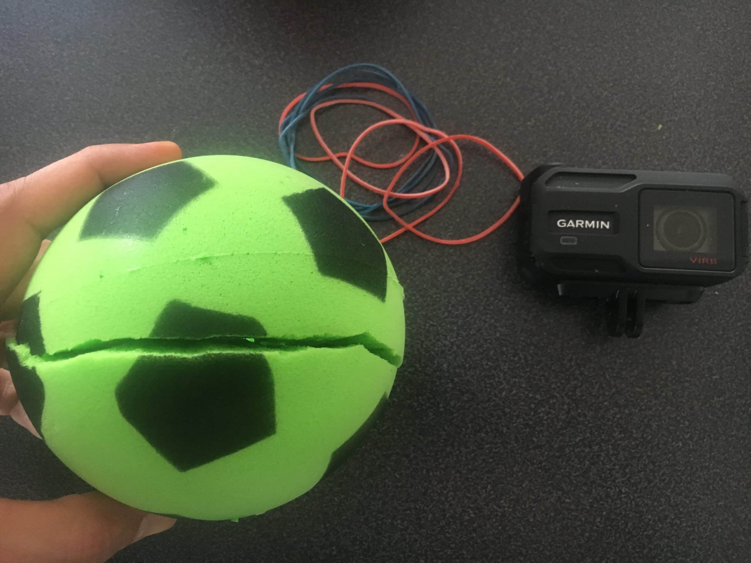 Action Cam im Ball