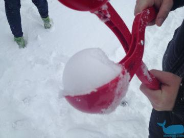 Schneeballzange